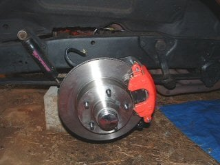 1956 chevy disc brake upgrade